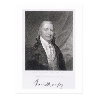 David Ramsay, engraved by James Barton Longacre (1 Postcard