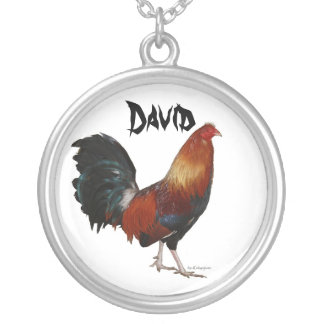 David Rooster Necklace