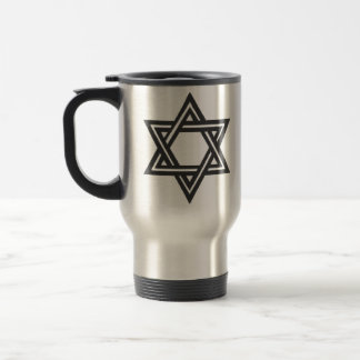 David`s-Star Travel Mug