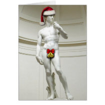 David Santa Greeting Card