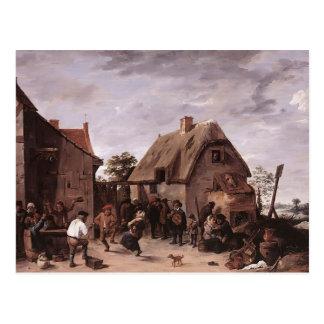 David Teniers el flamenco más joven Kermess Postales