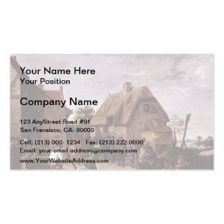 David Teniers the Younger- Flemish Kermess Business Card Template