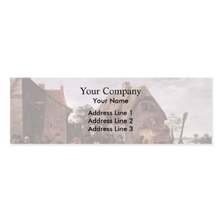 David Teniers the Younger- Flemish Kermess Business Cards