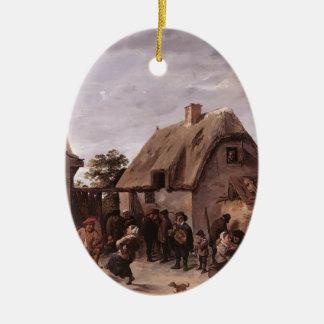 David Teniers the Younger- Flemish Kermess Ornament