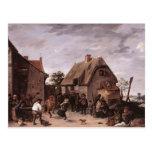 David Teniers the Younger- Flemish Kermess Postcards