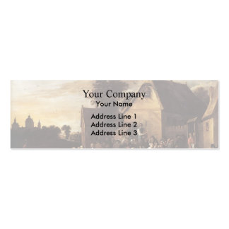 David Teniers the Younger- Kermess Business Card