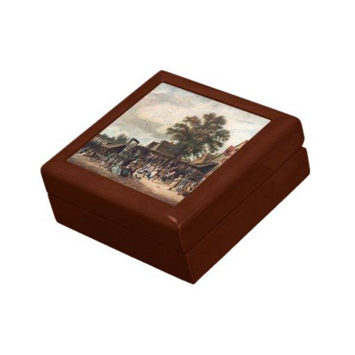 David Teniers the Younger- The Village Feast Keepsake Box