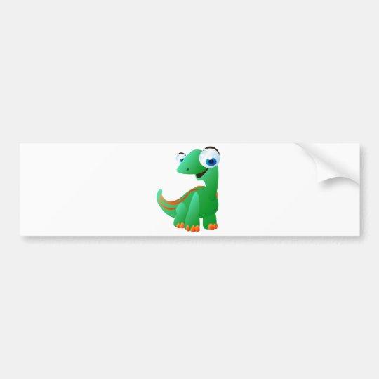 David The Dinosaur Bumper Sticker