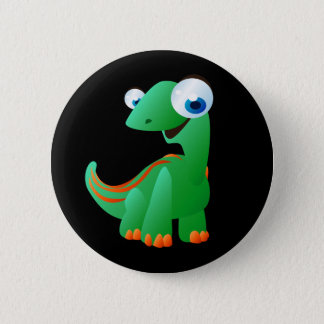 David The Dinosaur Pinback Button