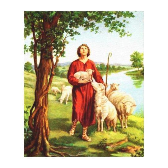 David The Shepherd Canvas Print