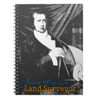 David Thompson Land Surveyor Notebook