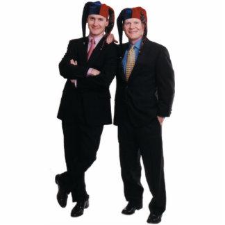 David & Tom Gardner Photo Stand-Up