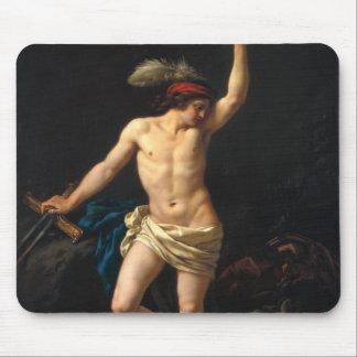 David victorioso, 1780 tapetes de raton