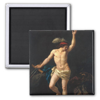 David Victorious, 1780 Magnet