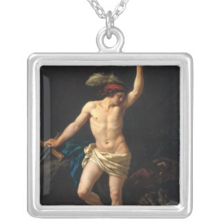 David Victorious, 1780 Silver Plated Necklace