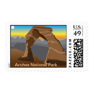 David Wells, Arches National Park Postage
