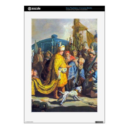 David with Goliath before Saul by Rembrandt Decals For The PS3