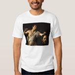 David with the Head of Goliath, Caravaggio T-shirts