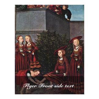 David y Bathsheba por Cranach D. Ä. Lucas (el mejo Tarjetón