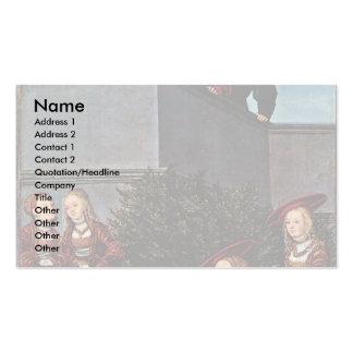 David y Bathsheba por Cranach D. Ä. Lucas (el mejo Plantillas De Tarjetas Personales