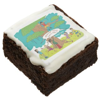David You Can't Fly! Brownies Square Brownie