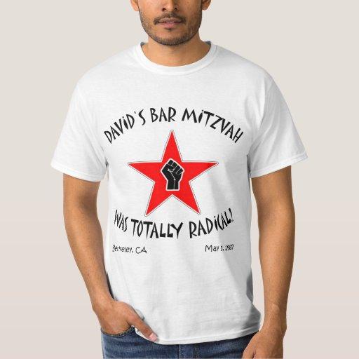 David's Bar Mitzvah Was Totally Radical! T-shirt