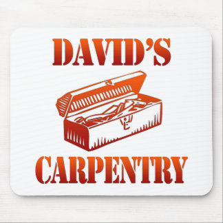 David's Carpentry Mouse Pad