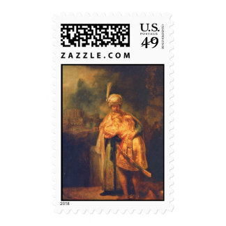 David'S Farewell To Jonathan By Rembrandt Postage Stamps
