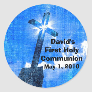 David's First Holy Communion Stickers