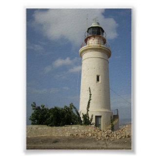 David's Lighthouse Poster