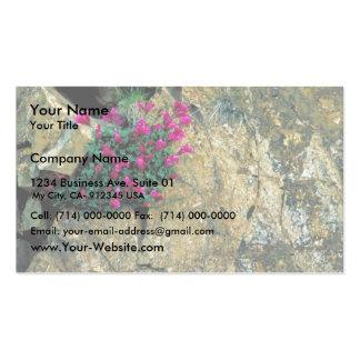 David's Penstemon Business Card Templates