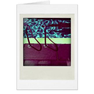 David's Pool 0616 variation 2 3d Computer Art card