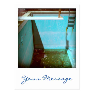 David's Pool 09f21 Custom 3d Computer Art postcard