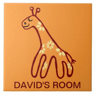 DAVID'S ROOM LARGE SQUARE TILE