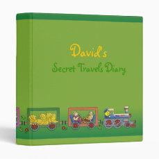 David's Secret Travels Diary Binder