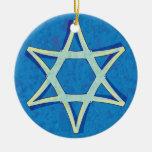 David's Star Hanukkah Ornament