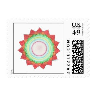 David's Star Postage Stamp