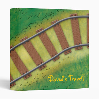 "David's Travels - 1.0"" Binder"
