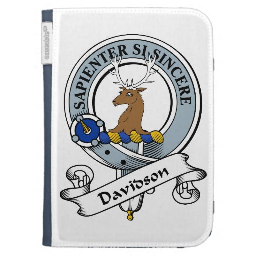 Davidson Clan Badge Case For The Kindle