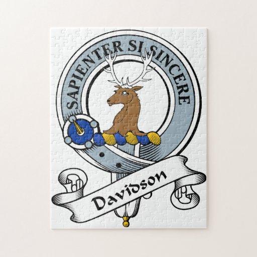 Davidson Clan Badge Jigsaw Puzzles