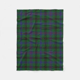 Davidson Clan Tartan Plaid Fleece Blanket