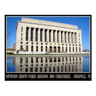 Davidson County Public Building and Courthouse Postcard