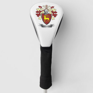 Davidson Family Crest Coat of Arms Golf Head Cover