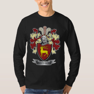 Davidson Family Crest Coat of Arms T-Shirt