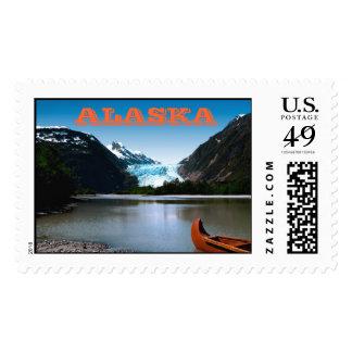 Davidson Glacier, Alaska Postage Stamp