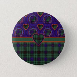 Davidson Scottish Tartan Button