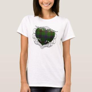 Davidson Tartan Heart T-Shirt