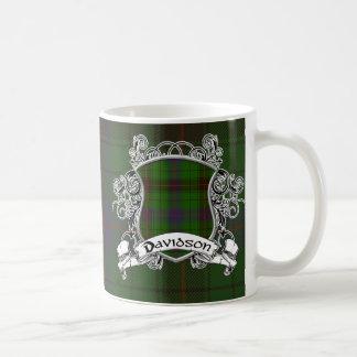 Davidson Tartan Shield Coffee Mug