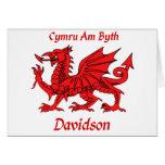 Davidson Welsh Dragon Cards
