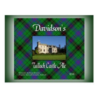 Davidson's Tulloch Castle Ale Postcards